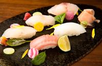 春の海鮮寿司